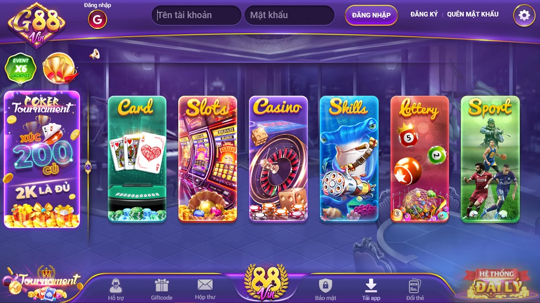 G88 – Cổng game G88.Vin – Tải cổng game Quốc Tế Android/APK/iOS