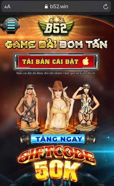 download b52 club android ios
